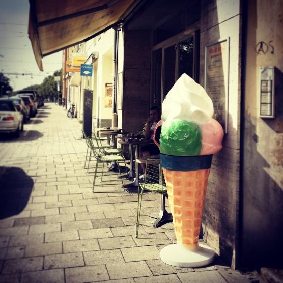 Münchens sommerliches Eisvergnügen