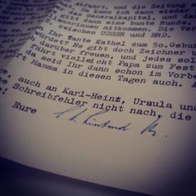 Briefe aus Afrika – August 1970