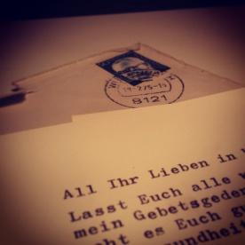 Briefe aus Afrika - Juli 1975
