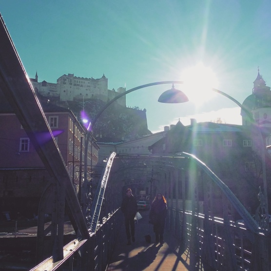 Treiben lassen in Salzburg