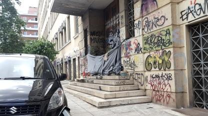 Schizophren in Athen.